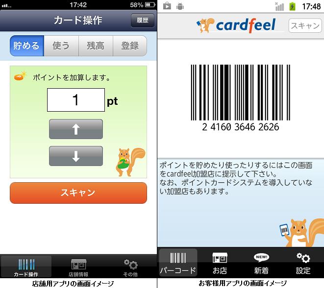 ポイントシステムcardfeel(カードフィール)